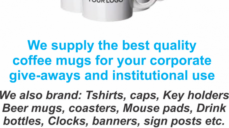Branded Coffee Mugs
