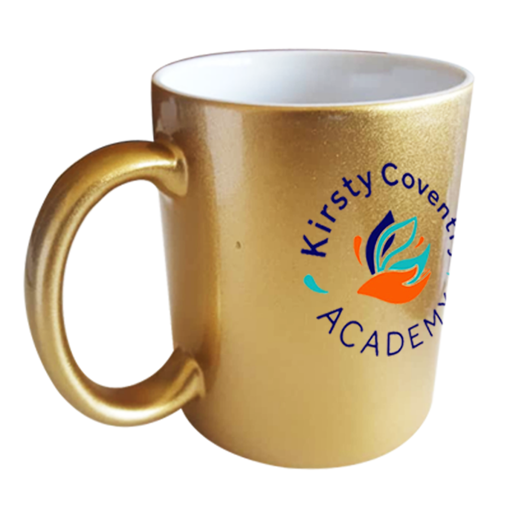 Kirsty Coventry Academy Gold mug