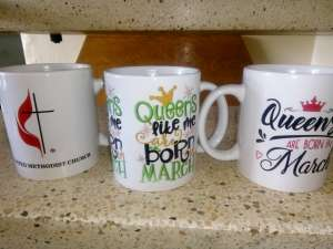 Personalised Mugs samples