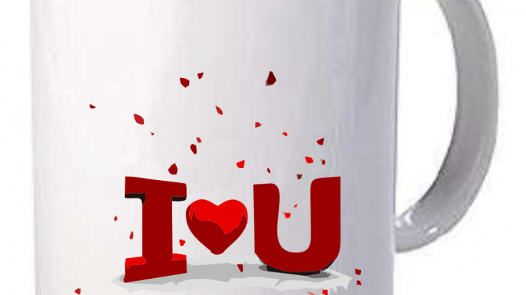 Branded Valentine's Day Coffee Mugs