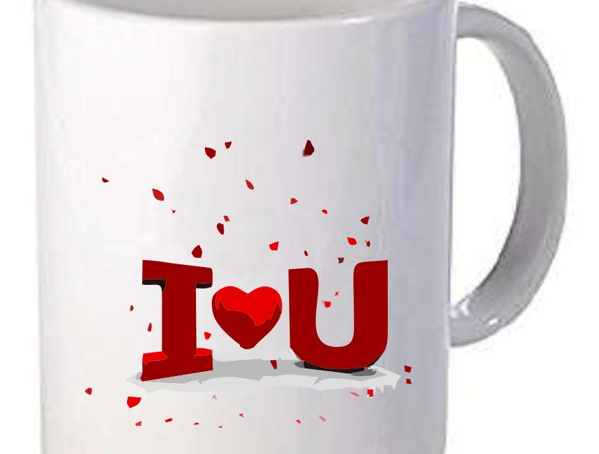 Branded Valentine's Day Coffee Mugs