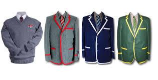 Branded school uniforms